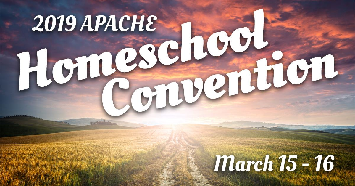2019 APACHE Homeschool Convention